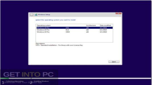 Windows 10 x64 Pro Updated July 2019 Free Download