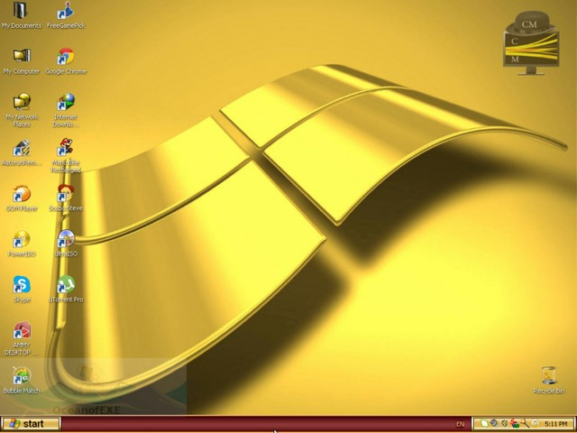 Windows XP Gold Edition latest version Free Download