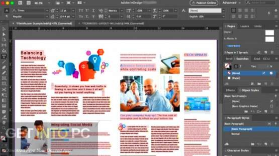 Adobe InDesign 2020 latest version Download