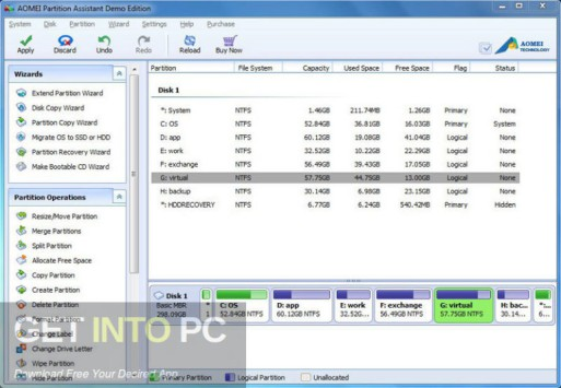 AOMEI Partition Assistant 2020 Direct Link Download