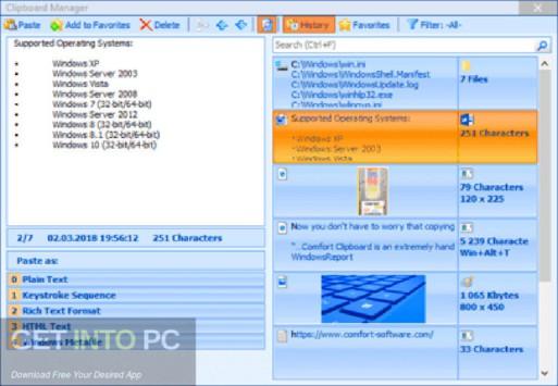 Comfort Clipboard Pro Offline Installer Download
