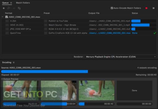 Adobe Media Encoder CC 2020 Offline Installer Download