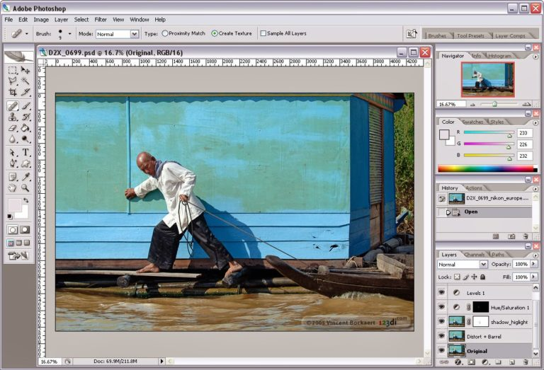 Adobe Photoshop 8.0 Direct Link Download Free