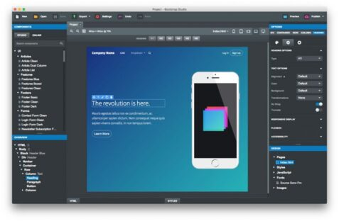 Bootstrap Studio Pro Free Download