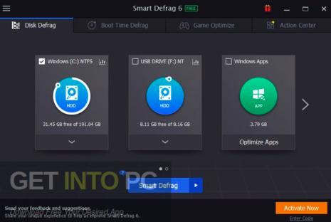 IObit Smart Defrag Pro 2020 Latest Version Free Download