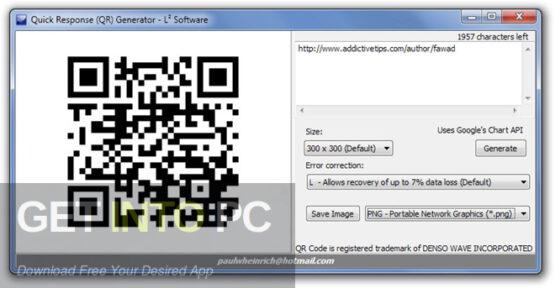 QR Code Generator Free Download