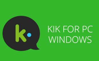 kik for pc windows