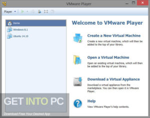 VMware Workstation Player Commercial Free Download