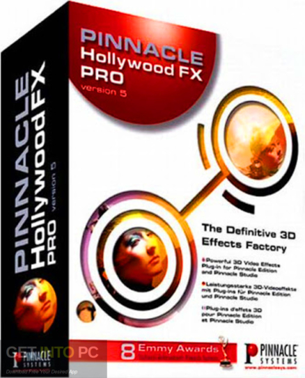Pinnacle Hollywood FX Free Download