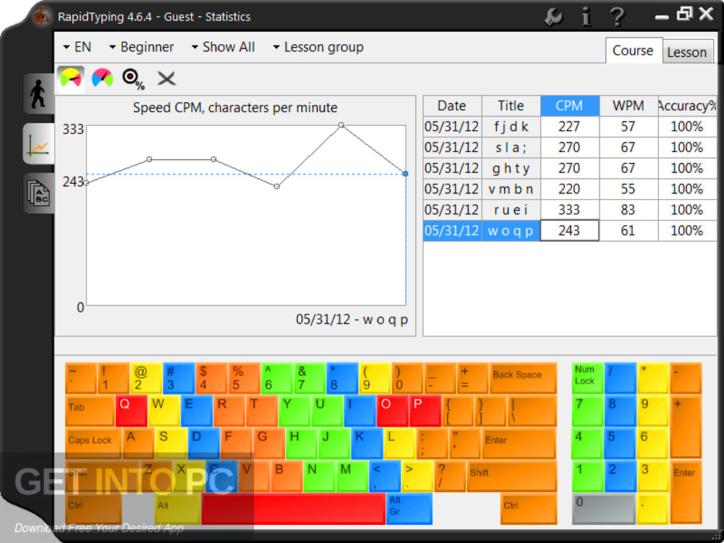Rapid Typing Tutor Free Download