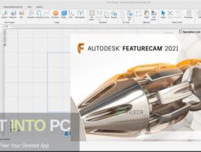 Autodesk FeatureCAM Ultimate 2021 Free Download