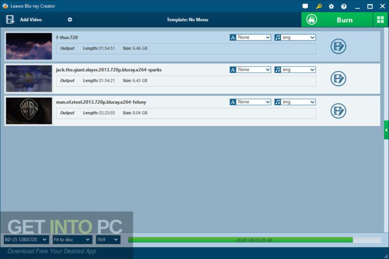 Leawo Blu-ray Creator Free Download