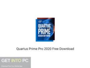 Quartus Prime Pro 2020 Free Download