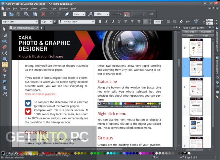 Xara Photo & Graphic Designer 2021 Free Download